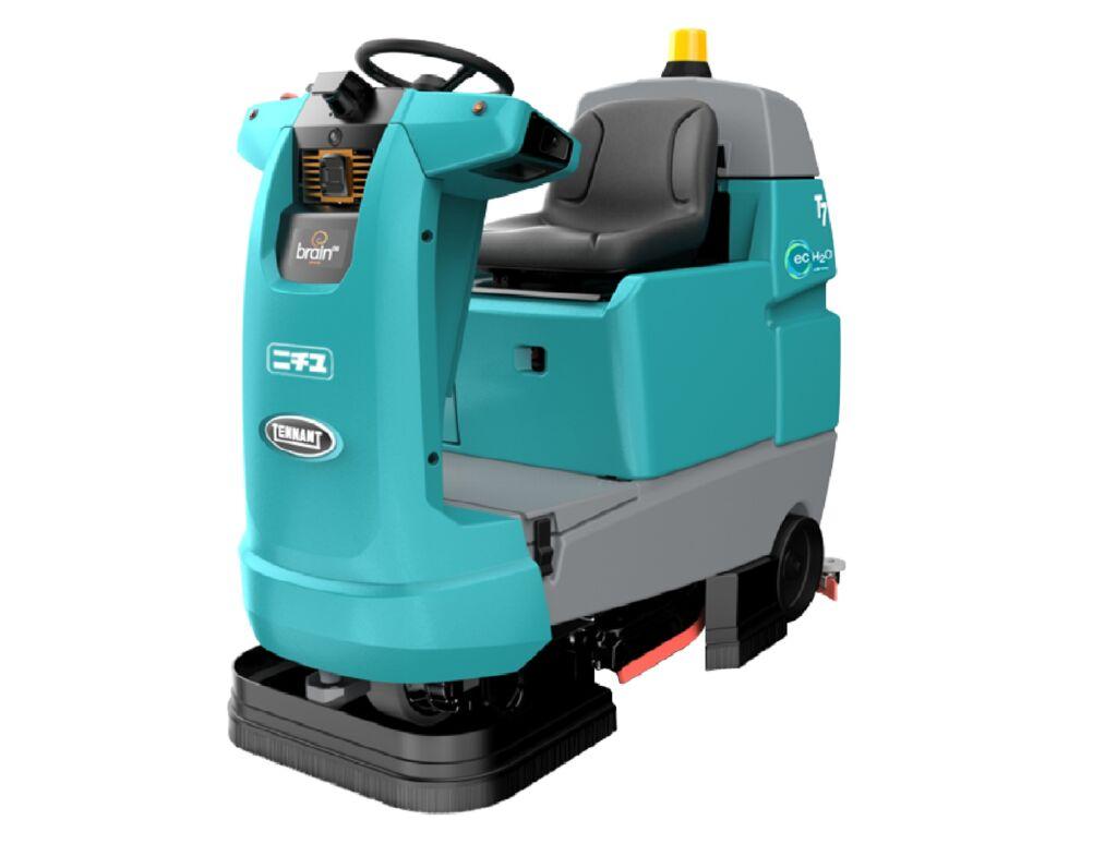 ロボット型床洗浄機で安全・安心な作業環境を実現